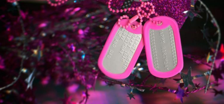 dog tags keepsake