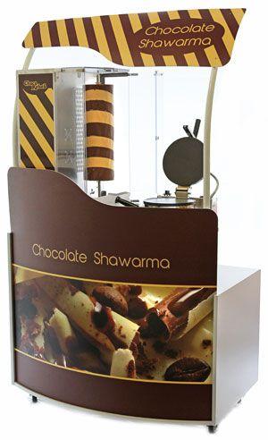 chocolate shawarma dessert